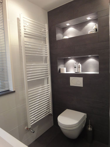 Badkamers nieuw vennep aannemersbedrijf m broertjes - Outs badkamer m ...